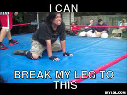 Broken Leg Meme Generator - DIY LOL via Relatably.com