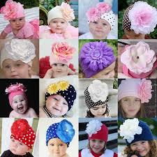 Cotton Girls Baby Hat <b>Crochet Handmade</b> Photography Props ...