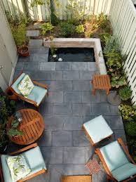 diy patio pond:  home decor large size alluring courtyards outdoor spaces patio ideas decks along small plants and
