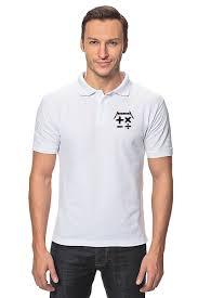 """Рубашка Поло """"<b>Математика</b>"""" #1402820 от gopotol - <b>Printio</b>"""