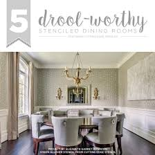 diy stenciled dining room vision  cutting edge stencils diy stenciled dining room ideas vision wallpape