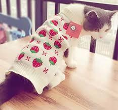Alemon Cat Clothes Pet Sweater Knitwear for Dogs ... - Amazon.com
