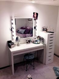 m square mirror with lights for white wooden dressing table combined with black polished iron stool 840x1120 charming makeup table mirror