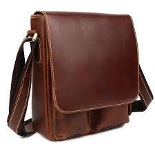 <b>Hot Sale</b> Men Teens Crossbody Bags <b>Genuine Leather</b> Messenger ...