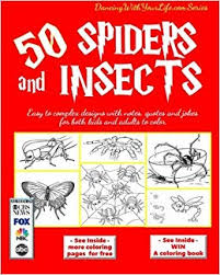 50 Spiders and Insects: Easy to complex <b>designs</b> with notes, <b>quotes</b> ...