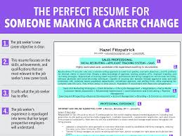 changing careers essay career change resume sample