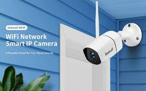 <b>Stalwall N648 Smart Home</b> Security AI Camera Offered for $25.99