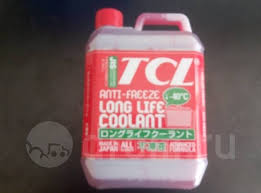 <b>Антифриз TCL</b> LLC RED (<b>Long Life</b> Coolant) - 40 ( 2 л ...