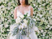 15 Best Elegant Flower Wall and <b>Inimitable</b> wedding table images ...