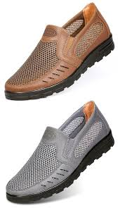 Large Size <b>Men</b> Old Peking <b>Style Mesh</b> Fabric Casual Shoes | Dress ...