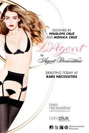 papierdoll penelope monica cruz with agent provocateur launch their collection on bare necessities papierdoll collections agent