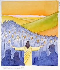Image result for jesus with crowds images