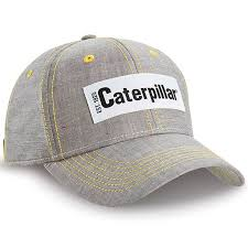 CAT Hats - CAT <b>Caps</b> - Caterpillar CAT Est. 1925 Gray Chambray ...