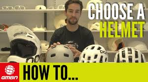 How To Choose A <b>Mountain Bike Helmet</b> - YouTube