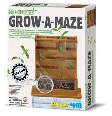 4m grow a maze kit test the intellectual strengths of a plant 4m grow a maze this plant maze is a great toy for anyone interested in experimenting nature