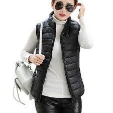 Plus Size <b>Autumn Winter Coat Women</b> Ladies Gilet Colete Feminino ...
