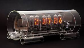 industrial chic furniture ideas glass nixie clock in 8 2 model by michael sangster bathroomwinsome rustic master bedroom designs industrial decor