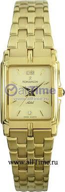 Купить Женские наручные <b>часы Romanson TM8154CLG</b>(<b>GD</b> ...