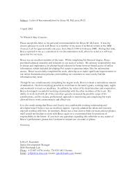 reference letter or recommendation letter letter format  business recommendation