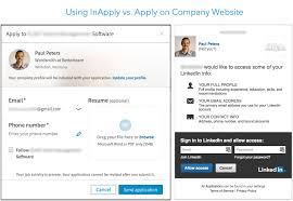 how your linkedin job posting can lure top applicants inapply vs website linkedin login