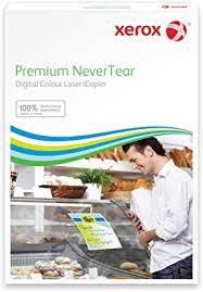Xerox PNT self-Adhesive Film perm. White 60μm ... - Amazon.com