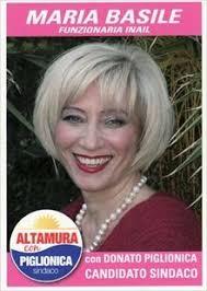 """... prende il posto di Maria Basile nella Lista """"Altamura con Piglionica"""". - Maria%2520Basile"""