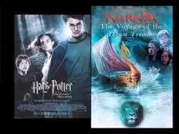 """Диктор читает рекламу """"<b>Гарри Поттер и Хроники</b> Нарнии ..."""