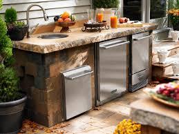 Outdoor Patio Kitchen Outdoor Kitchen Appliances Hgtv