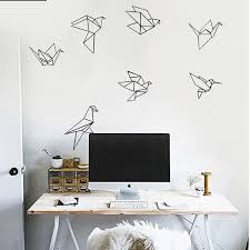 New Fashion Paper Crane Wall Stickers Wall Stickers <b>Removable</b> ...