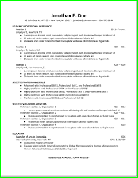 examples of resumes cover letter common resume format cover letter common resume format common resume format intended for professional resume formats