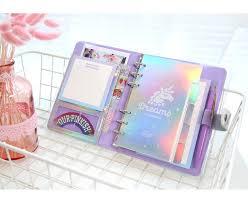 A6 Diary <b>Notebook</b> and Bullet Journal DIY Agenda <b>Planner</b> ...