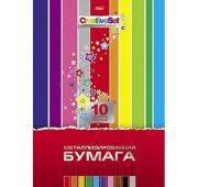 <b>Бумага</b> цветная А4 10 цветов 10л металлизированная <b>Creative</b> ...