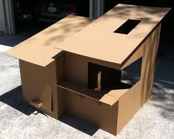 Playhouse Cardboard Design Plans DIY Free Download shopsmith    playhouse cardboard design
