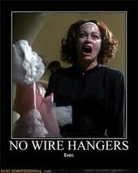 Mommie Dearest on Pinterest | Joan Crawford, Wire Hangers and Faye ... via Relatably.com
