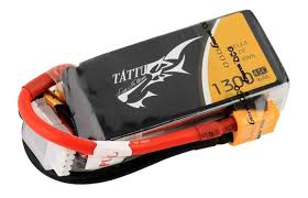 <b>Аккумулятор GensAce Tattu</b> LiPo Battery 3s1p 11.1V 1300mAh 45C ...