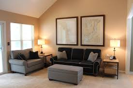 Paint Schemes For Living Room With Dark Furniture Cream Cushions Color Warm Color Schemes For Living Rooms Paint