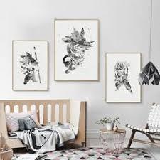 <b>Canvas</b> Paintings Wall Art <b>Nordic</b> Dragon Ball Picture HD Prints ...