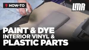 How To Paint/Dye <b>Interior</b> Vinyl & Plastic <b>Parts</b> - Mustang Tech (Fox ...