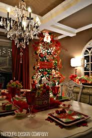 Christmas Dining Room Christmas Dining Room Decor Facemasrecom