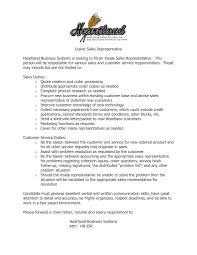 tele s representative resume