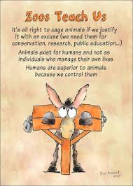 Zoos  Animals and Animal Rights How to Do Animal Rights zoo education