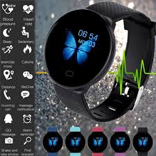 <b>Smart Watch D19</b> Bluetooth Fitness Tracker Heart Rate Blood ...
