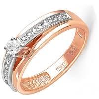 KABAROVSKY <b>Кольцо с 19 бриллиантами</b> из красного золота 11 ...