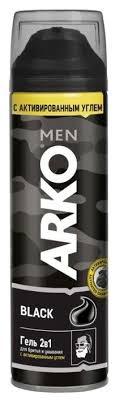 <b>Гель для бритья</b> и умывания Black 2 в 1 <b>Arko</b> — купить по ...