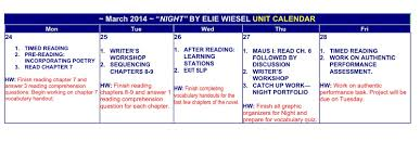 holocaust unit night and maus i ms papas class wiesel elie maus middot nightcalendar middot nightcalendar2