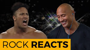 <b>The Rock</b> Reacts to His First WWE Match: 20 YEARS OF <b>THE ROCK</b> ...