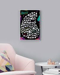 <b>Скретч</b>-<b>постер</b> #100дел LOVE edition - <b>1DEA</b>.<b>me</b>