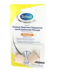 <b>Scholl</b> (Шолл) подушечки гелевые при искривл.пальцев №2 6240 ...