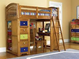 image of unique bunk beds with desk and storage amazing loft bed desk