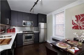 Small Picture Modren Dark Walnut Kitchen Cabinets Wood Throughout Ideas